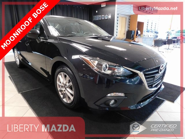 Certified Pre-Owned 2016 Mazda3 i Touring