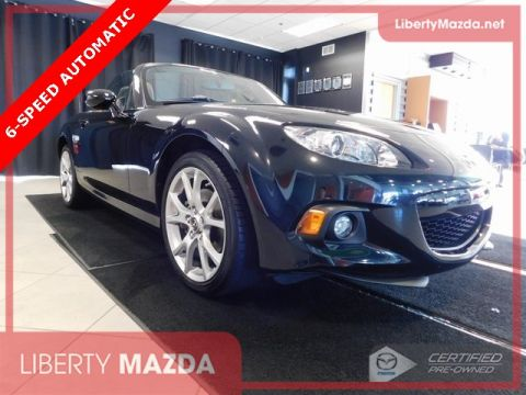 Certified Pre-Owned 2015 Mazda Miata Grand Touring