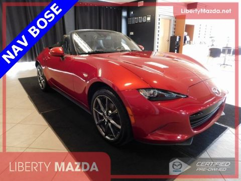 Certified Pre-Owned 2016 Mazda Miata Grand Touring